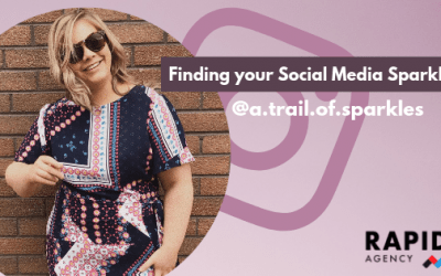 Finding Your Social Media Sparkle | Guest Blog #006 | A Trail of Sparkles | Rapid Agency Belfast
