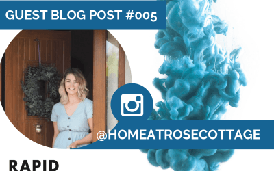 Standing out on Instagram | Home at Rose Cottage | Rapid Marketing