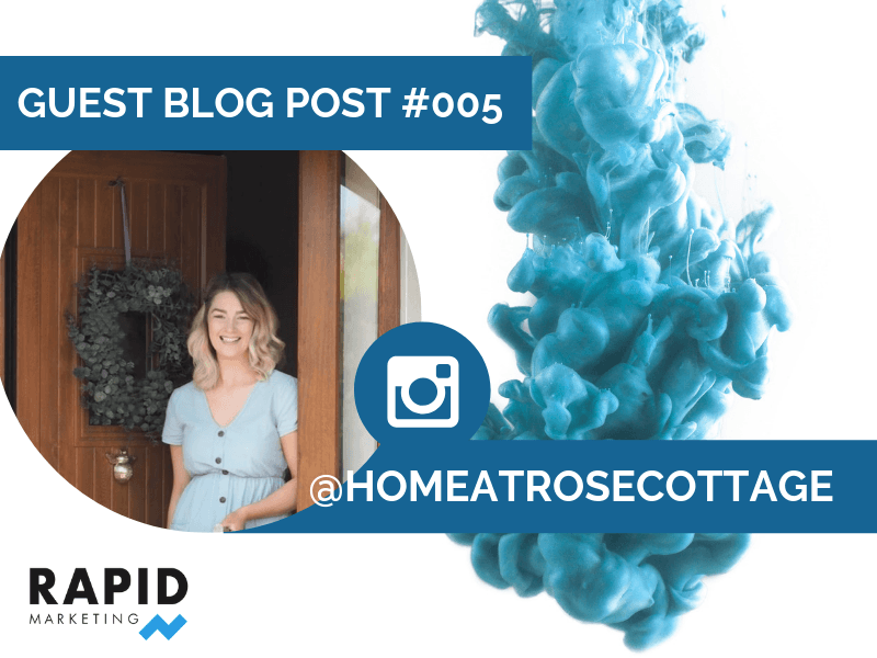 Standing out on Instagram | Home at Rose Cottage | Rapid Agency Belfast