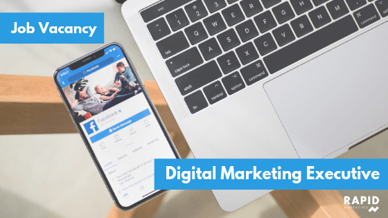 Digital Marketing Executive Vacancy | Rapid Marketing