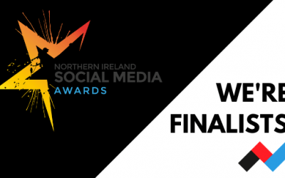 We're finalists! NI Social Media Awards 2019 | Rapid Agency Belfast