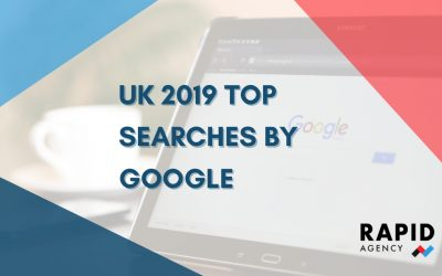 UK 2019 top searches by Google | Rapid Agency Belfast