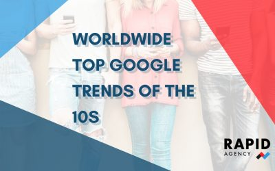 Worldwide top Google trends of the 10s