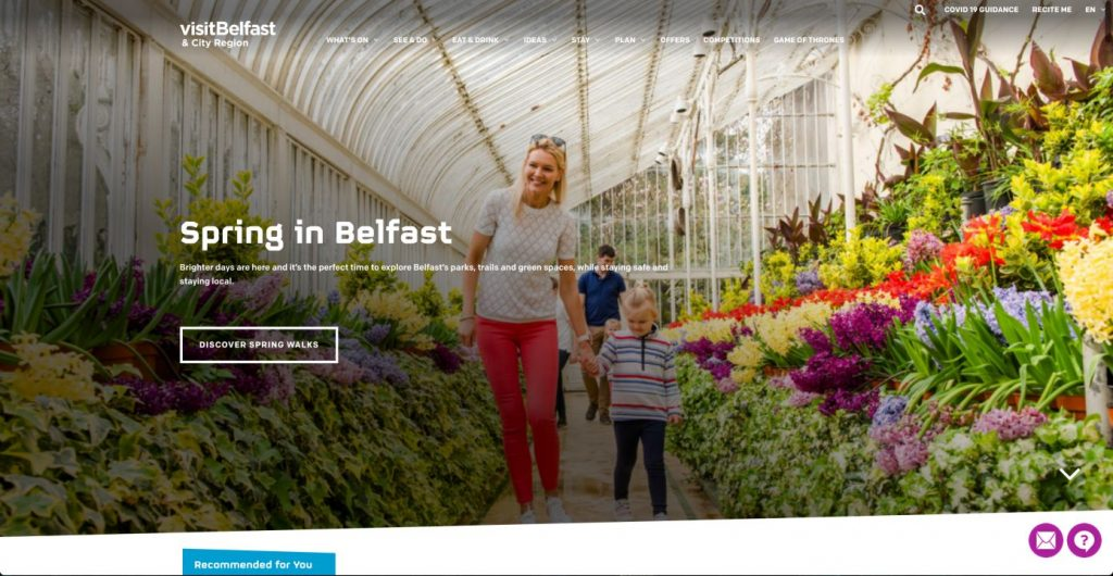 How to Improve UX for Northern Irish Websites Images and Words