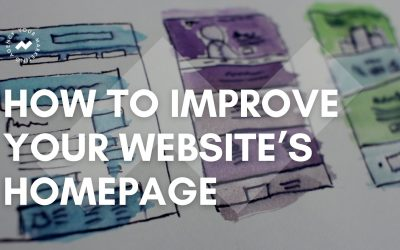 How to improve your website's homepage