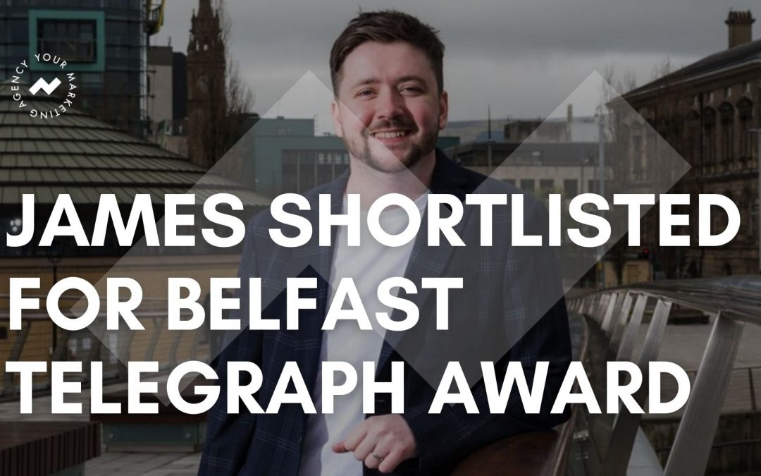 James Scullion shortlisted for Belfast Telegraph Young Business Person of the Year Award